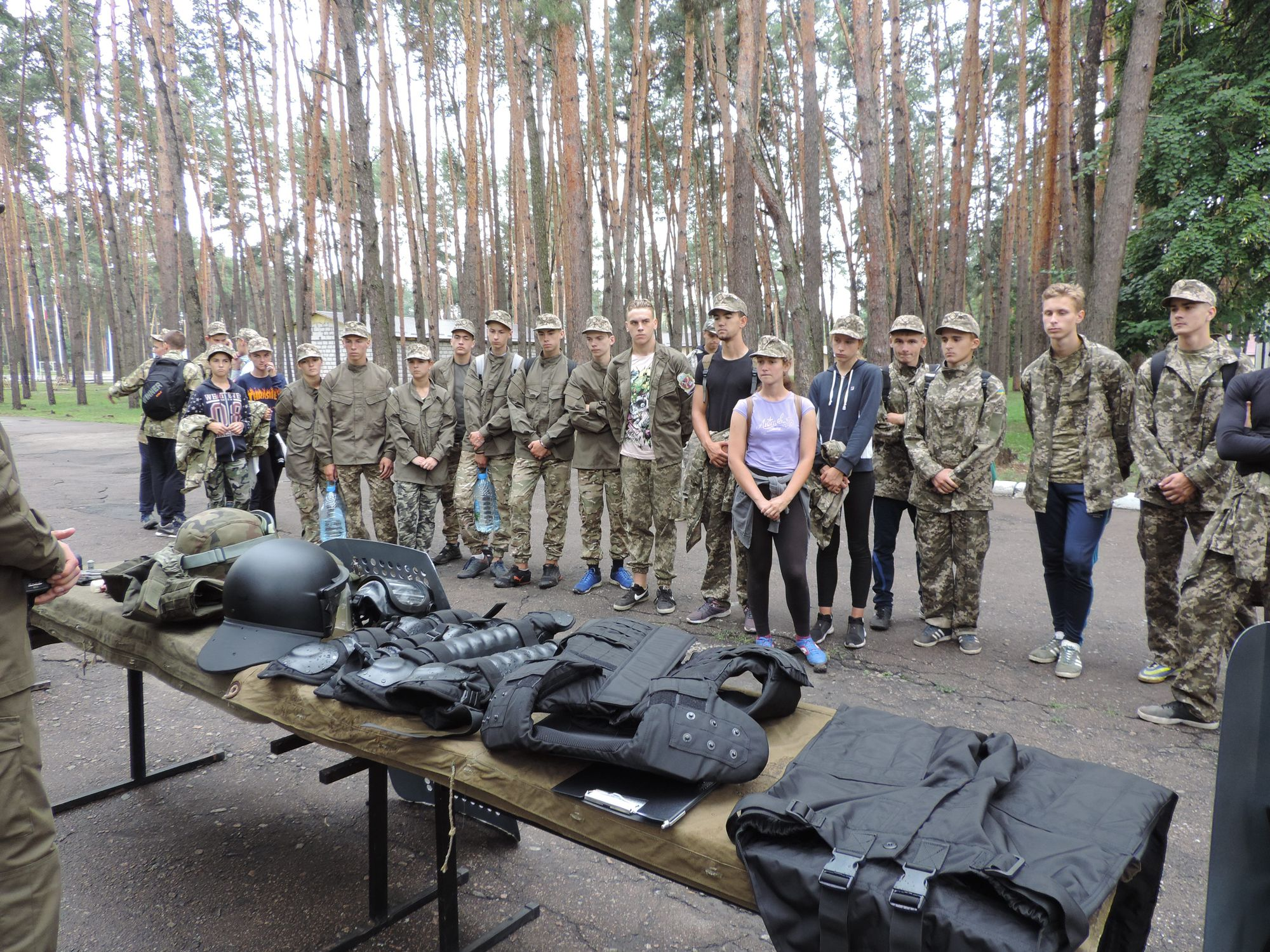 Рій з Остра представив область на ІІІ Всеукраїнському етапі гри «Сокіл» «Джура» (Фото)