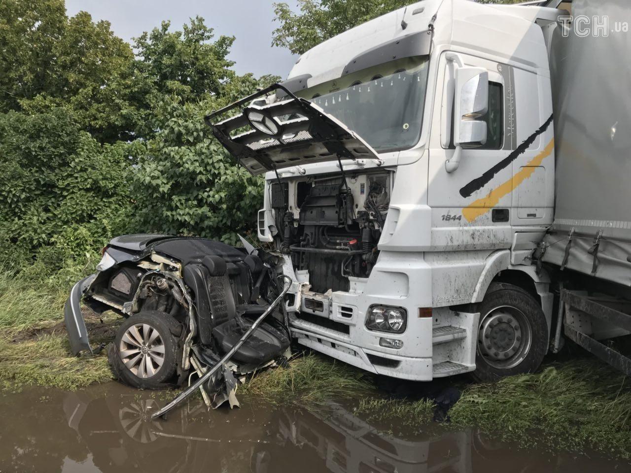 Подробиці жахливої аварії на трасі Чернігів-Київ (Фото)