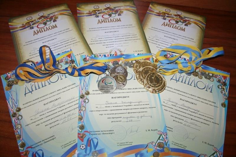 Сіверяни продемонстрували силу на чемпіонаті України з легкої атлетики (Фото)