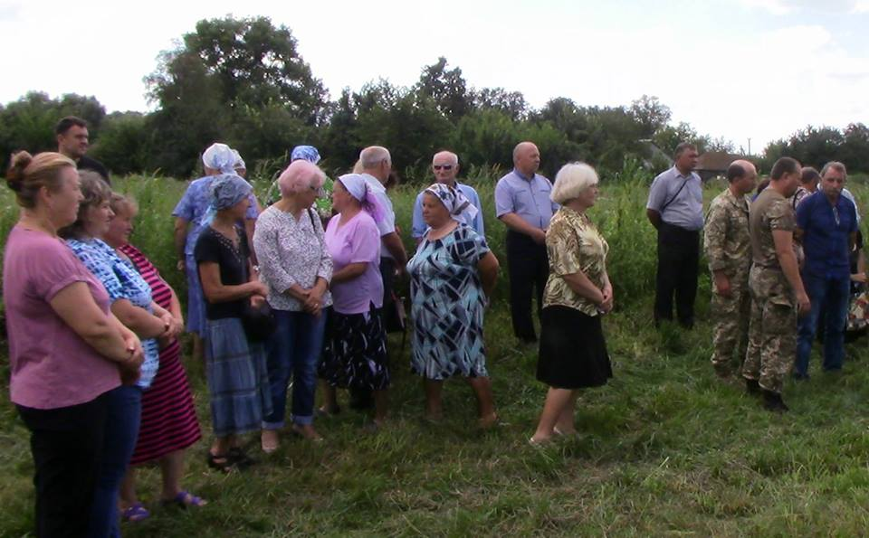 На Чернігівщині в останню путь провели військового (Фото)