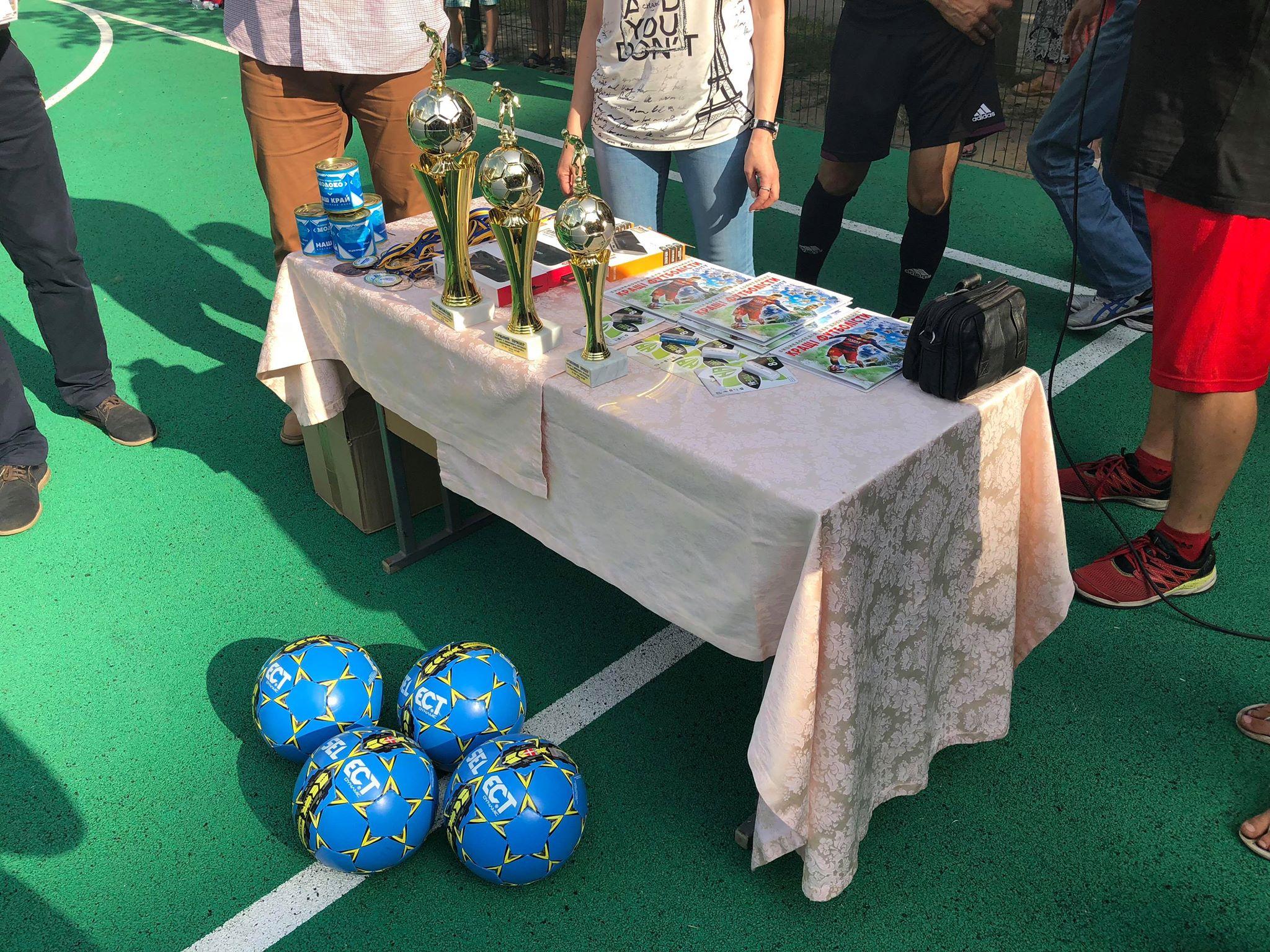 Дворовий футбол на Градецькому відзначився яскравими пенальті й штрафними картками