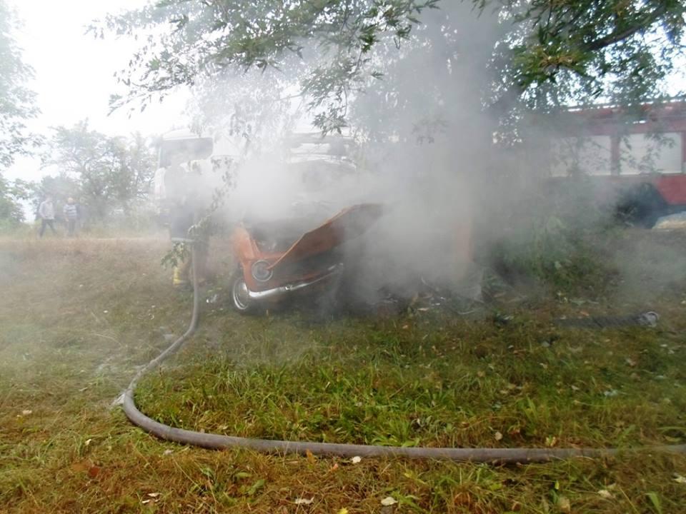 Стало відомо, чому згоріло авто з водієм на Чернігівщині (Фото)