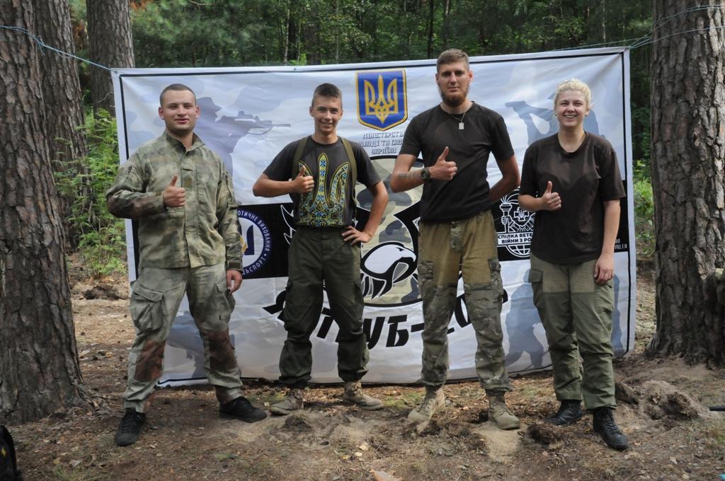 На Чернігівщині відбувся Всеукраїнський табір «Яструб – 2018» (Фото)