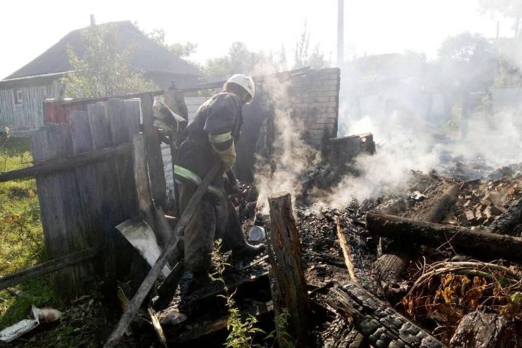 Вогонь забрав життя 70-річного сіверянина (Фото)