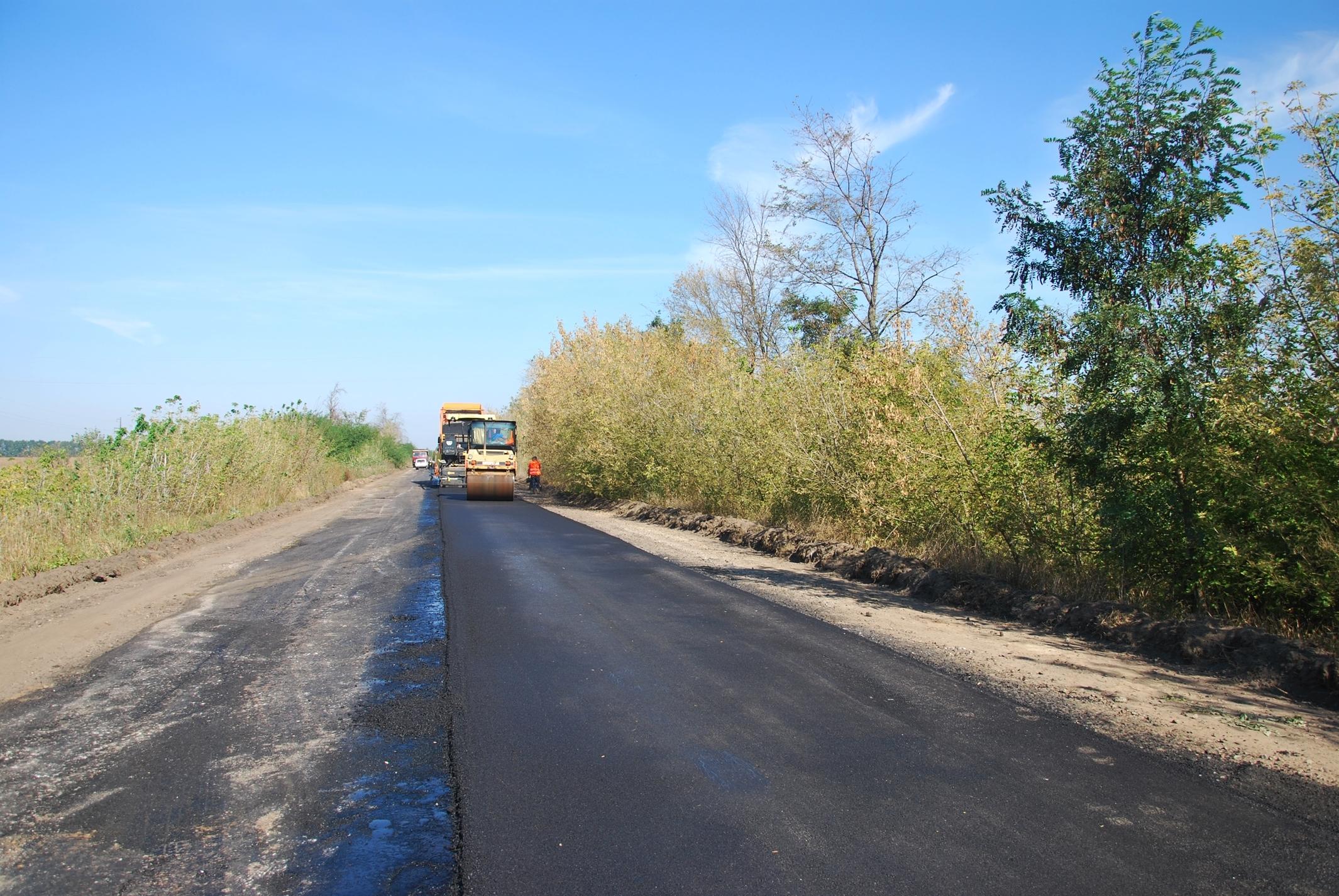 Стартував ремонт дороги Козелець – Бобровиця