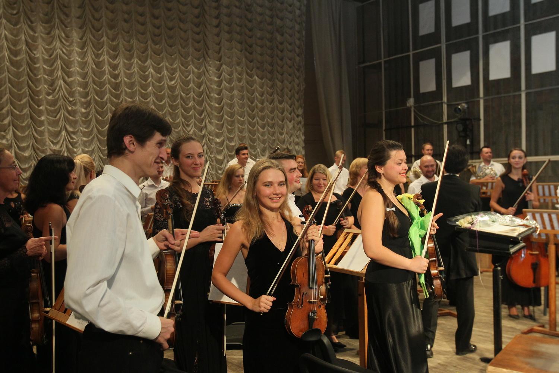 """Академічний симфонічний оркестр """"Філармонія"""" відкрив 75-й концертний сезон (Фото)"""