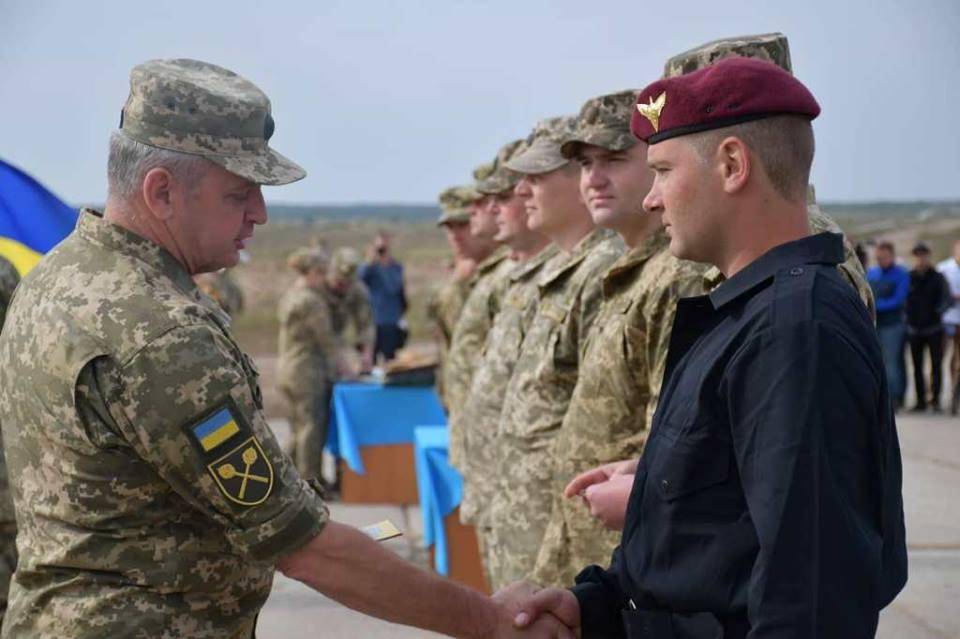 На Чернігівщині нагородили кращих танкістів (Фото)