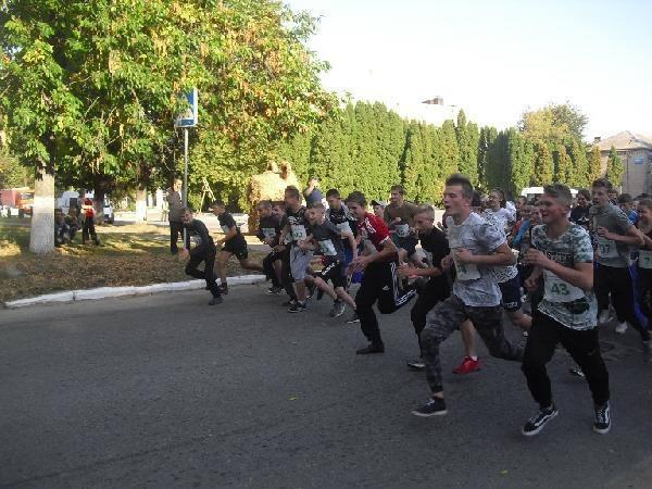 У Семенівці День міста відсвяткували легкоатлетичним пробігом (Фото)