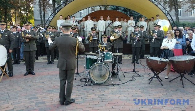 У Чернігові відбувся ІІІ Всеукраїнський фестиваль духових оркестрів (Фото)