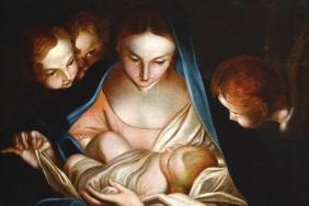 Мадонна з немовлям. Невідомий художник. Копія з Карло Маратті.