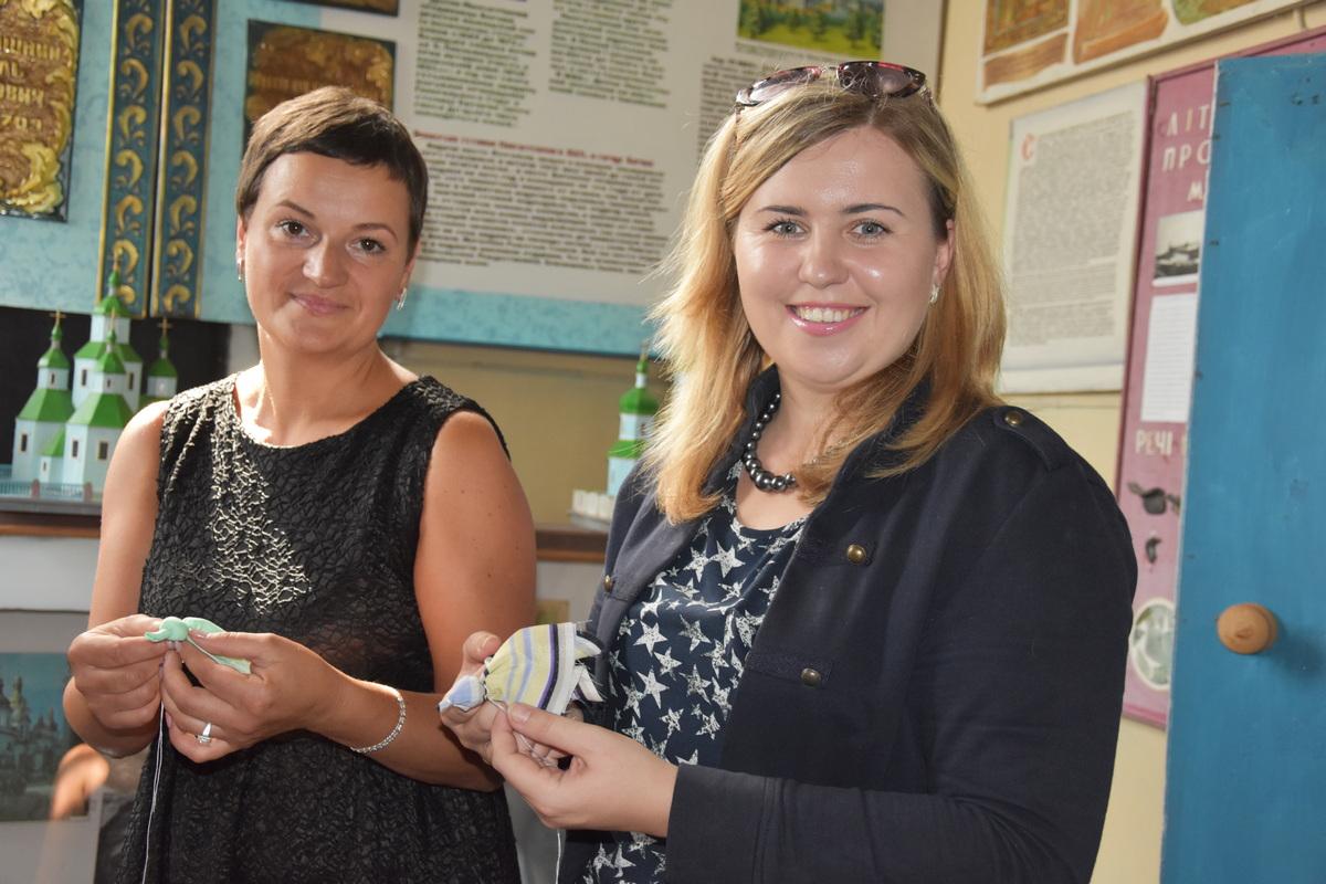 На Чернігівщині ювілей музею святкували з тортом-мамонтом