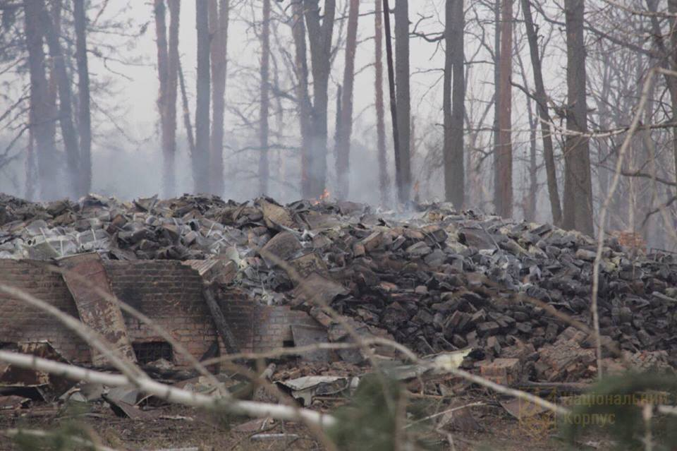 Моторошні фото наслідків із зони вибухів (Фото)