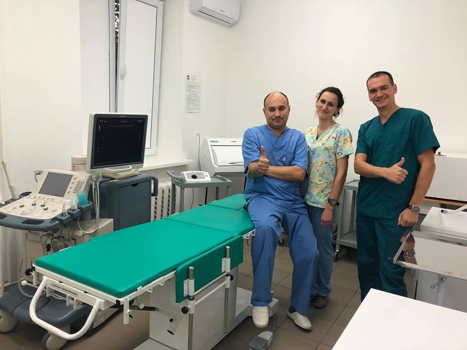 У Чернігові вперше вилікували варикозні вени без хірургічного втручання (Фото)