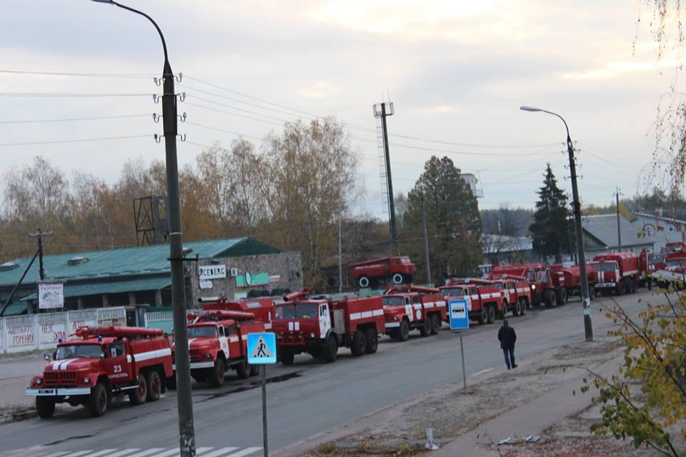 У Сновську відзвітували про пожежі на торфовищах