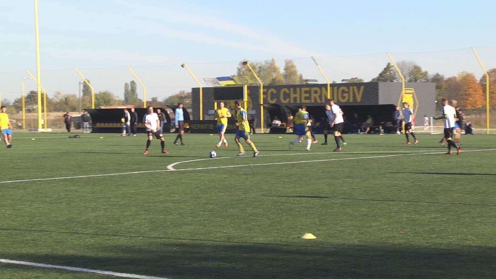 Запекла боротьба за кубок з дворового футболу в Чернігові