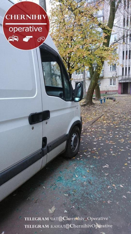 Вночі автозлодії орудували вулицями Чернігова