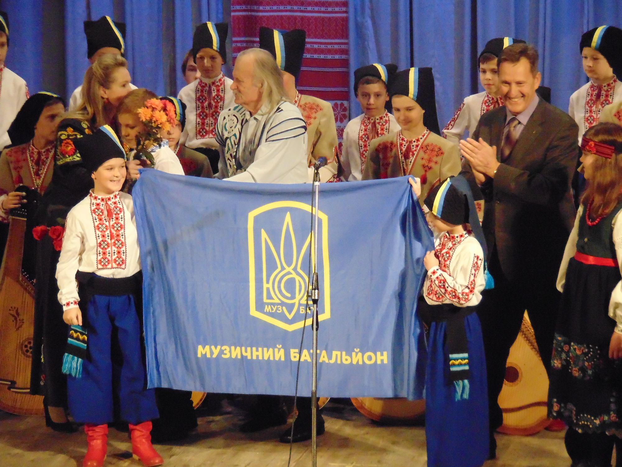 «Дума про лірника Гребіня» Василя Нечепи звучала на чернігівській сцені (Фото)