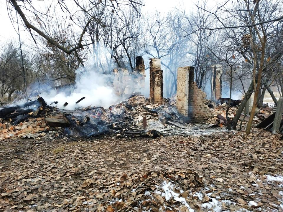 На Чернігівщині у власному будинку згорів господар (Фото)