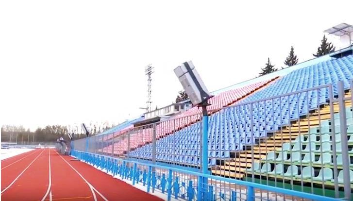 Нове електронне табло на стадіоні ім. Ю. Гагаріна встановлять до кінця місяця (Фото)