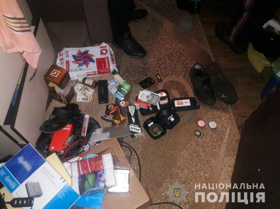 На Чернігівщині поліція затримала серійного міжрайонного крадія (Фото)