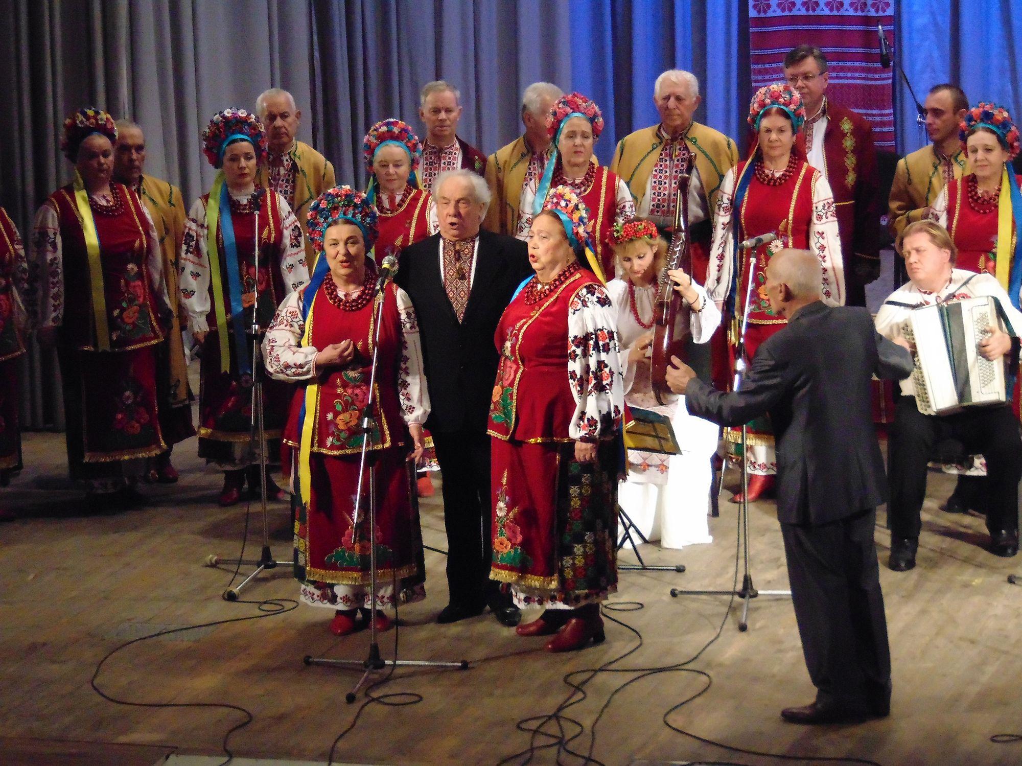 Микола Борщ відсвяткував 55-річчя творчої діяльності (Фото)