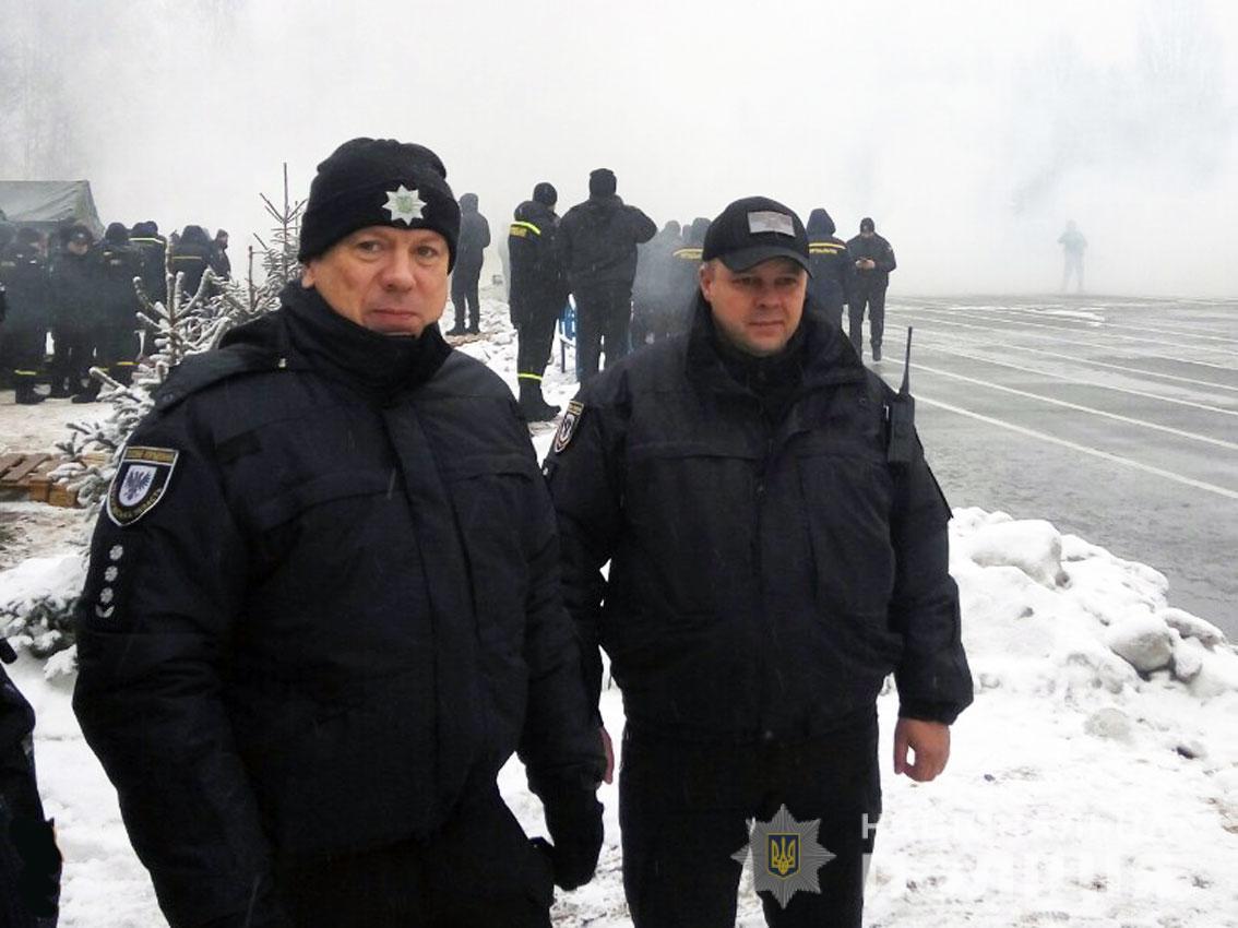 Поліцейські Чернігівщини долучилися до проведення масштабних тактико-спеціальних навчань підрозділів Нацполіції та МВС України (Фото)