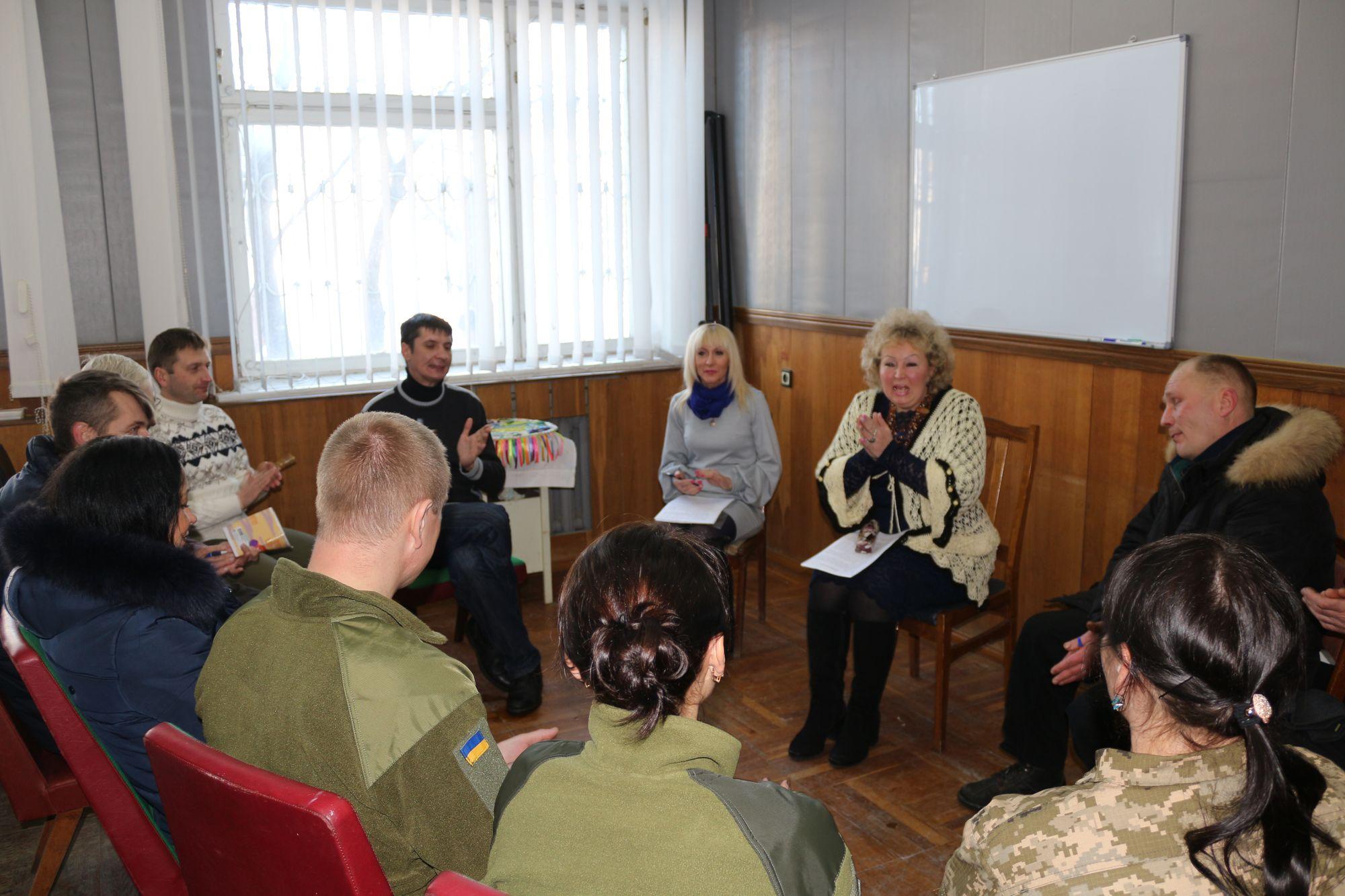 Центр реабілітації для учасників бойових дій відкрито (Фото)