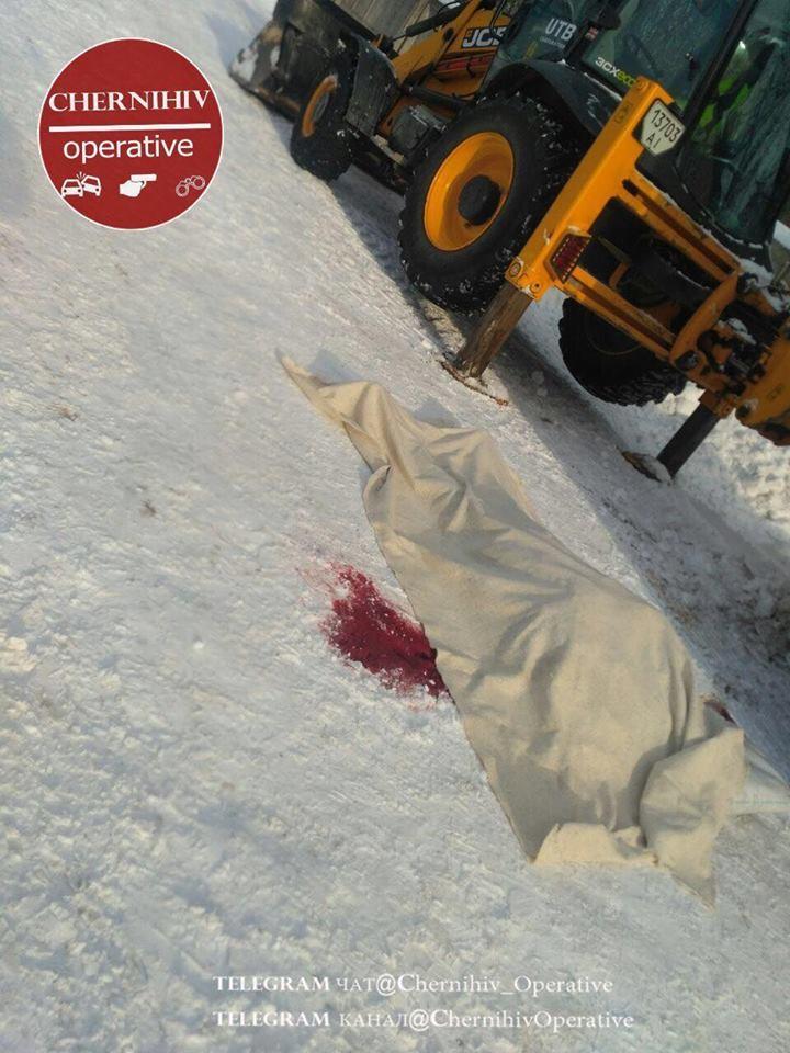У Чернігові на підприємстві загинув чоловік (Фото)