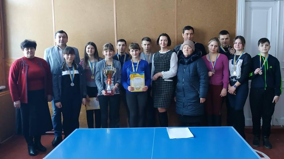 На Срібнянщині відбувся турнір із настільного тенісу (Фото)