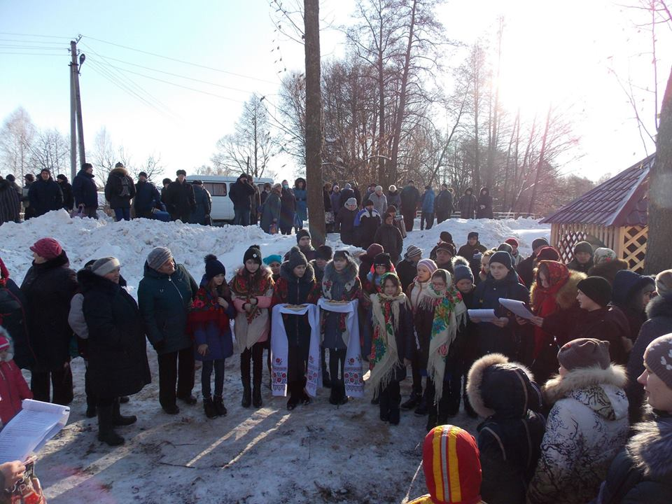 На Чернігівщині відновили й освятили джерело «Пугачове» (Фото)