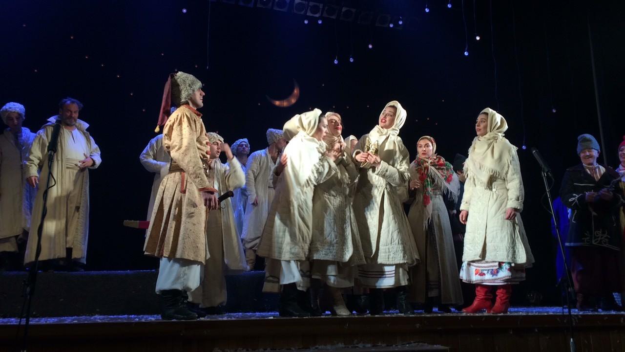 Шевченківці вп'яте представили харківським глядачам «Ніч перед Різдвом» (Фото)