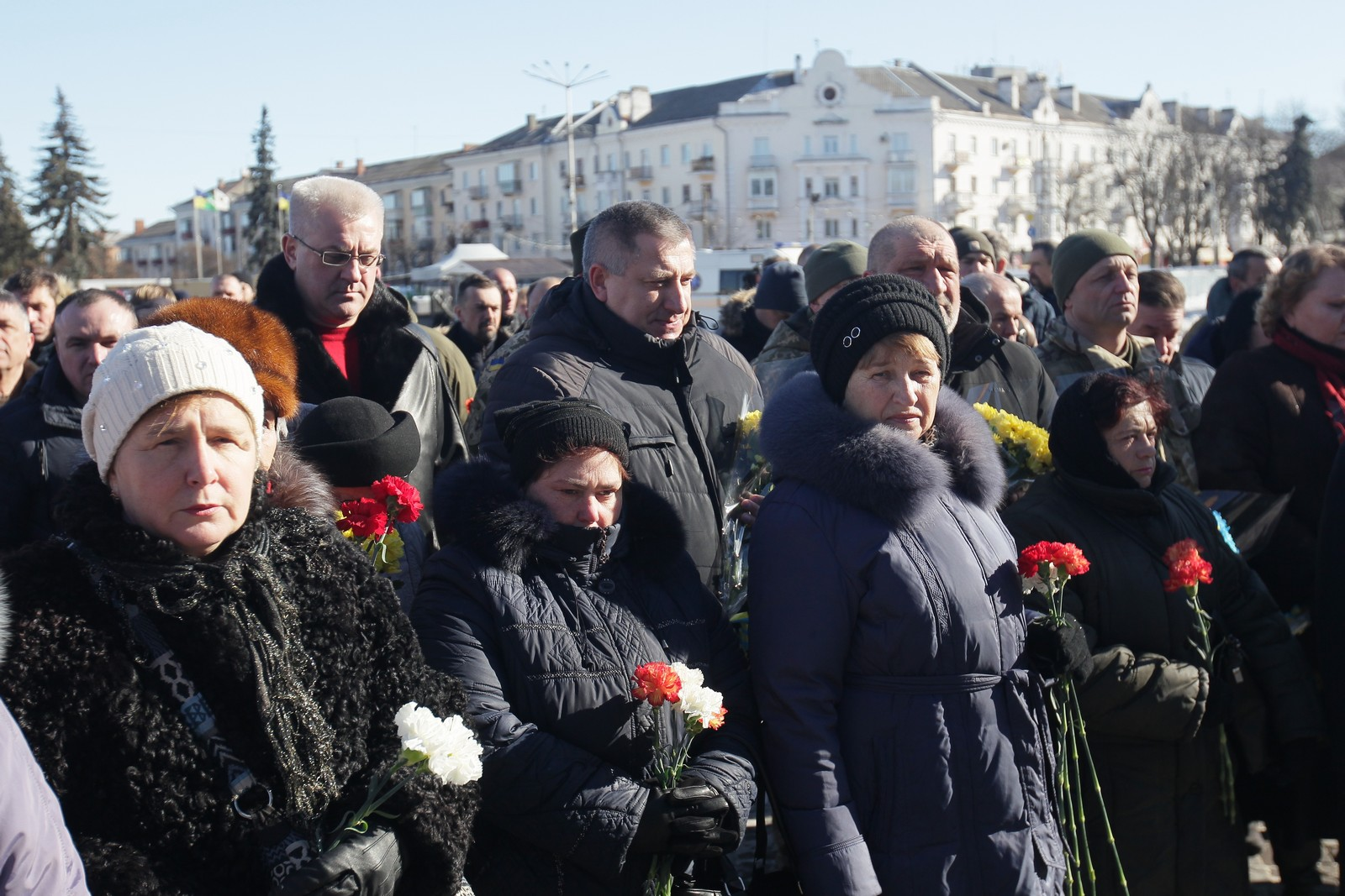 У Чернігові вшанували пам'ять Героїв Дебальцевого (Фото)