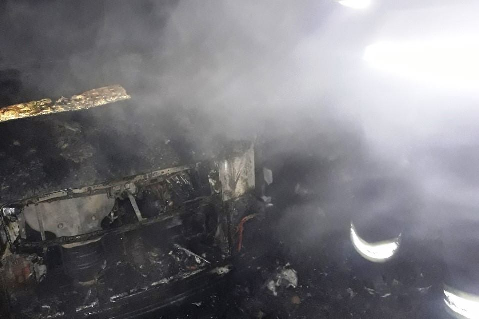 У Прилуках чоловіки отримали опіки під час гасіння пожежі (Фото)