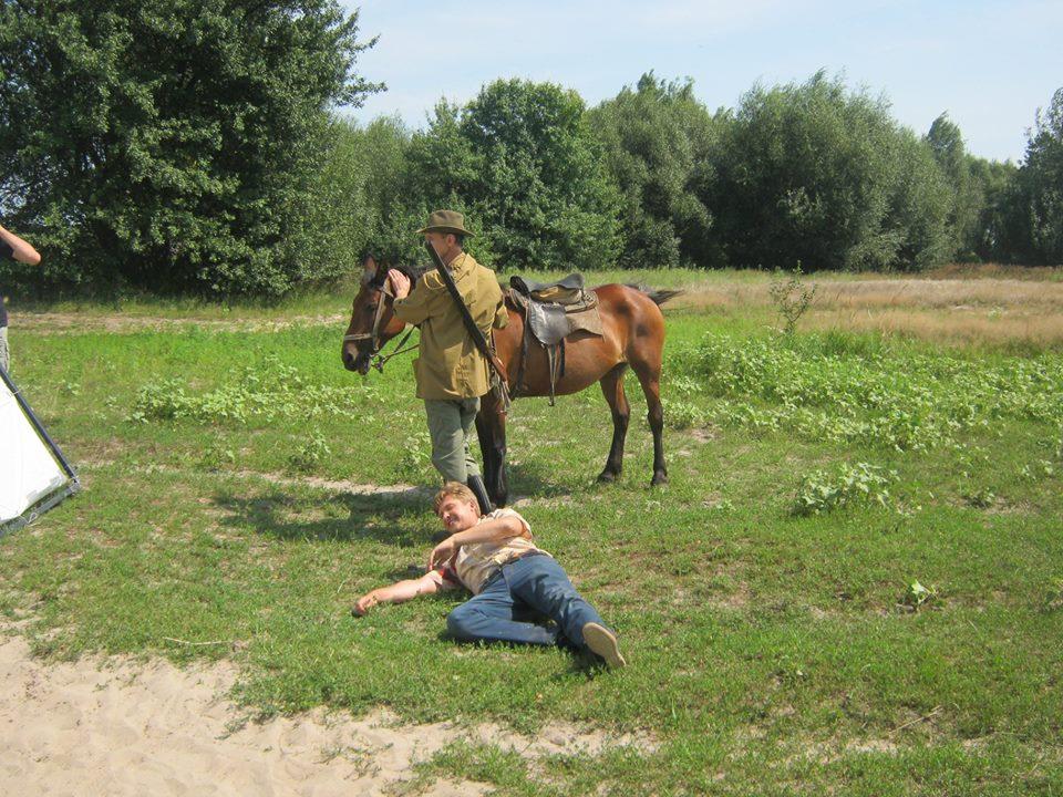 Як у селі на Чернігівщині серіал знімали (Фото)