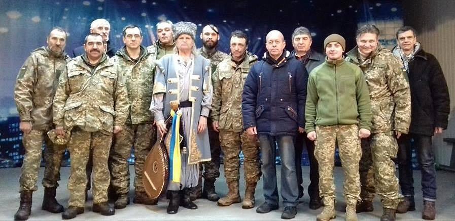 Перша кобза Чернігівщини — дітям і захисникам Луганщини (Фото)