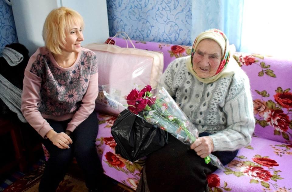 101-річна бабуся з Бахмаччини розкрила секрет свого довголіття