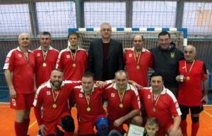 Ніжинці здобули перемогу в чемпіонаті області з футзалу серед ветеранів (Фото)