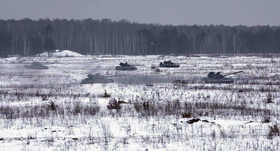 На Чернігівщині танки ходили у наступ (Фото)