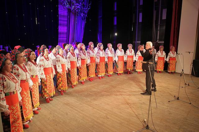 У Чернігові академічний народний хор зустрів весну (Фото)