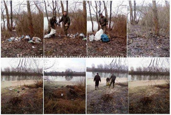 Чернігівський рибоохоронний патруль зібрав понад 200 мішків сміття на берегах річок області