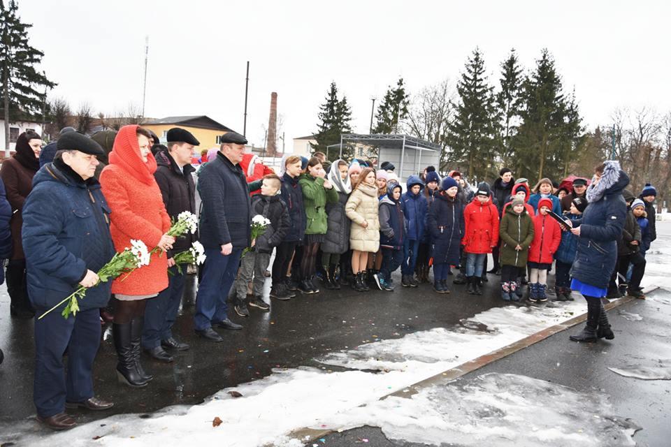 У Коропі відкрили пам'ятний знак Дем'яну Ігнатовичу (Фото)