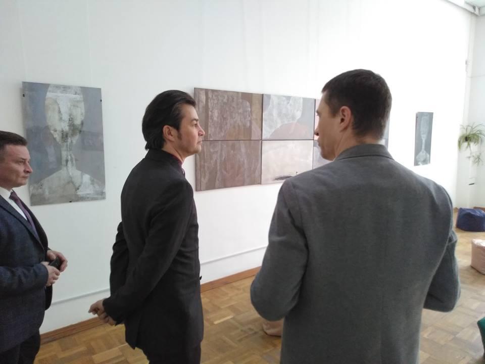 На виставку до художнього музею завітав міністр культури (Фото)