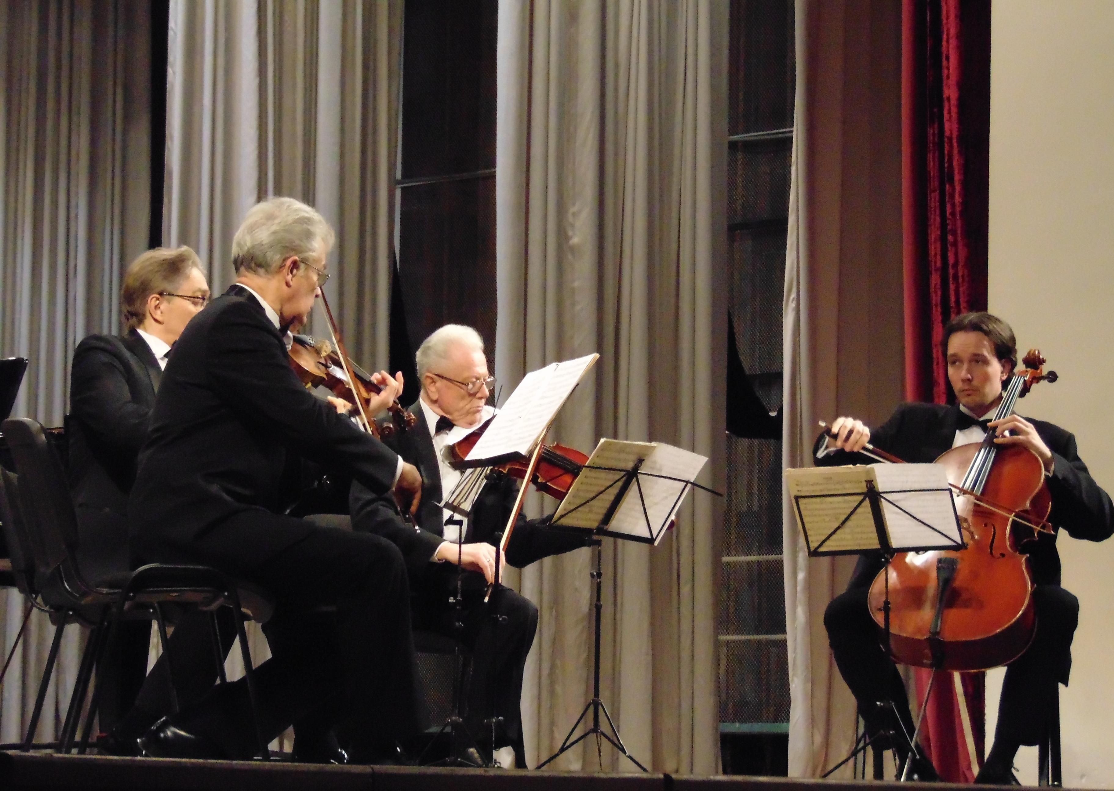 У четвертий фестивальний день «Сіверських музичних вечорів» виступив Квартет імені Лисенка (Фото)