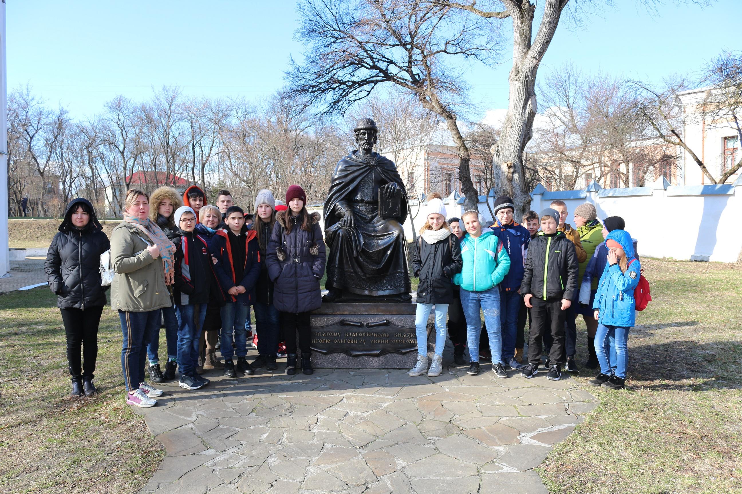Для дітей із Донеччини провели турне історичними місцями Чернігівщини (Фото)
