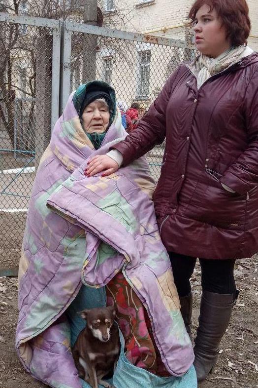 У Чернігові ледь не згоріли 7-річний хлопчик з бабусею