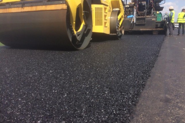 За останні п'ять років у Каневі заасфальтовано 123 000 кв.м. доріг