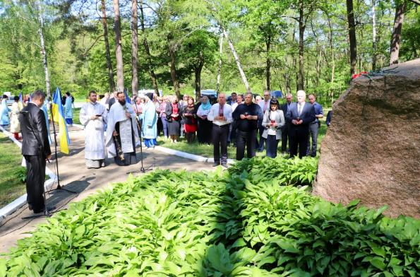 На Чернігівщині вшанували пам'ять жертв політичних репресій (Фото)