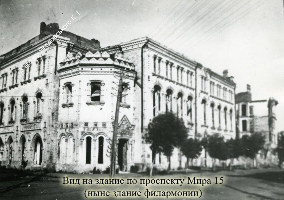 Фото воєнного Чернігова