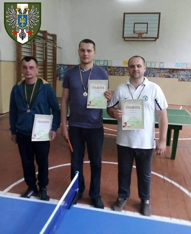 На Куликівщині відбувся турнір з настільного тенісу серед ветеранів АТО (Фото)