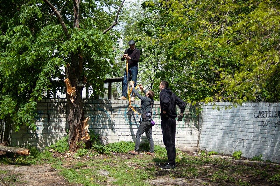 У Березовому гаю облаштували перший громадський город (Фото)